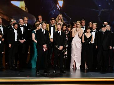 """Game of Thrones"" ganó 12 estatuillas en la edición de 2019 de los Emmy. AFP / F. J. Brown"