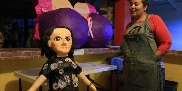 Ponen a la venta piñata de Sarita, la hija de José José