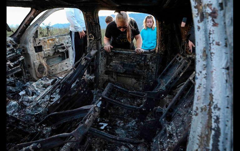 Una de las líneas de investigación apunta a que el ataque se dio como parte de enfrentamientos entre grupos criminales rivales que operan en Chihuahua y Sonora. AFP/H. Martínez