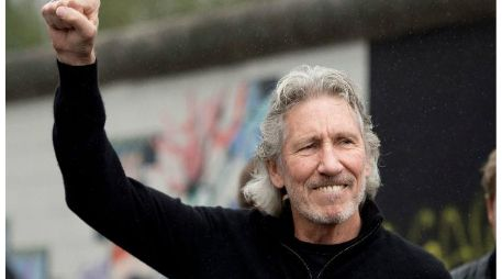 A través de un video, Roger Waters da su apoyo a Evo Morales. AFP / ARCHIVO