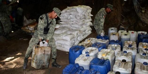 Localizan narcolaboratorio de gran escala en Jilotlán de los Dolores - EL INFORMADOR