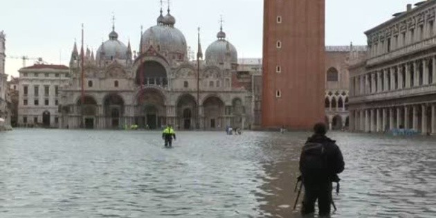 Venecia cierra plaza de San Marcos por nueva subida del agua - EL INFORMADOR