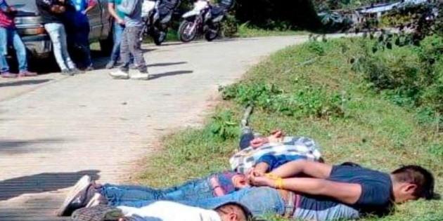 Turba intenta linchar a cinco presuntos asaltantes en Veracruz - EL INFORMADOR