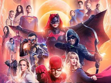 "El proyecto crea un multiverso de los superhéroes de DC Cómics y Warner, que incluyen a ""The Flash"", ""Supergirl"", ""Green Arrow"", Batwoman y a ""súper-Man, entre otros. TWITTER / @CW_Arrow"