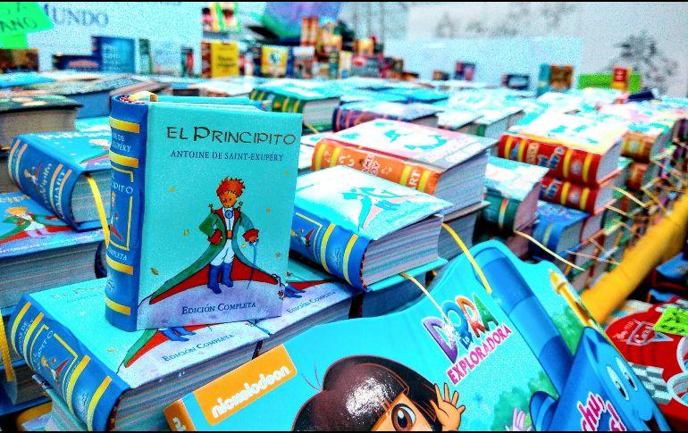 """La editorial ofrece literatura clásica e infantil como """"El Principito"""" de Antoine de Saint-Exupéry, entre otros autores. EL INFORMADOR"""