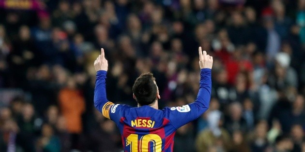 Lionel Messi lidera goleada de Barcelona sobre Mallorca