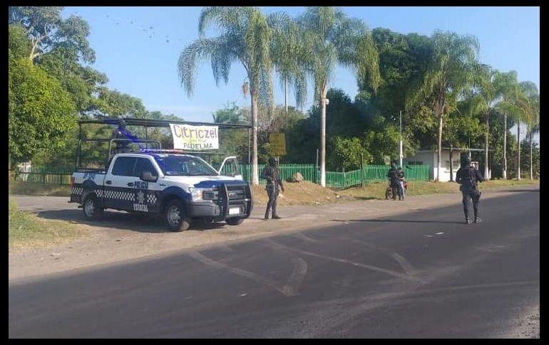 Tras el asesinato del exalcalde, la Secretaría de Seguridad Pública de Veracruz desplegó un operativo en la zona. FACEBOOK/SPVeracruz