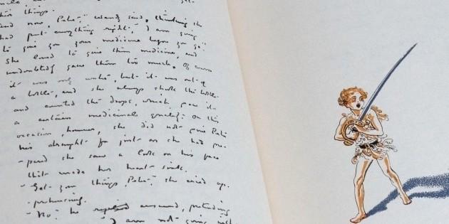 Manuscrito de J.M. Barrie revela el lado oscuro de Peter Pan