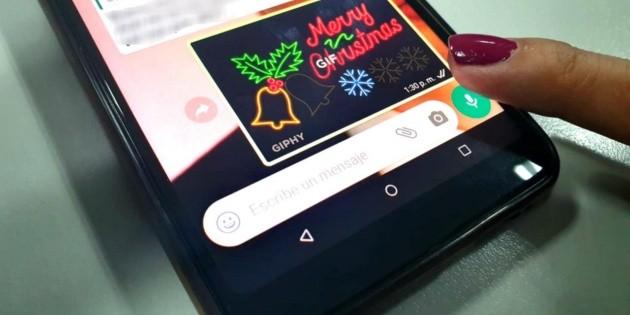 Envía las mejores felicitaciones de Navidad por WhatsApp