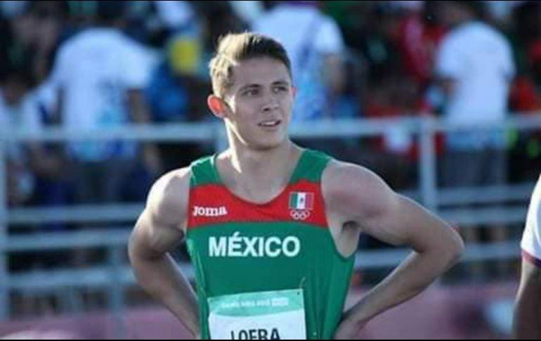 Loera representó al estado de Chihuahua a nivel regional y nacional de la Olimpiada Juvenil. TWITTER / @COM_Mexico