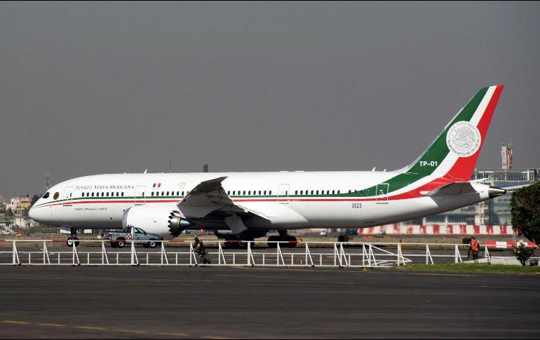 López Obrador rechaza que haya fracasado la venta de la aeronave, sino que es un proceso complejo.