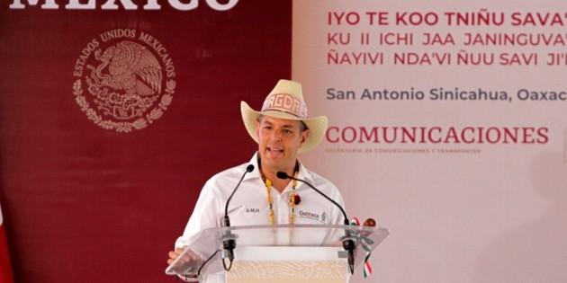 "Oaxaca apoya a Insabi pues sector salud no es ""color de rosa"""