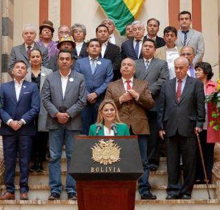 Bolivia: Posible candidatura de presidenta interina causa polémicas