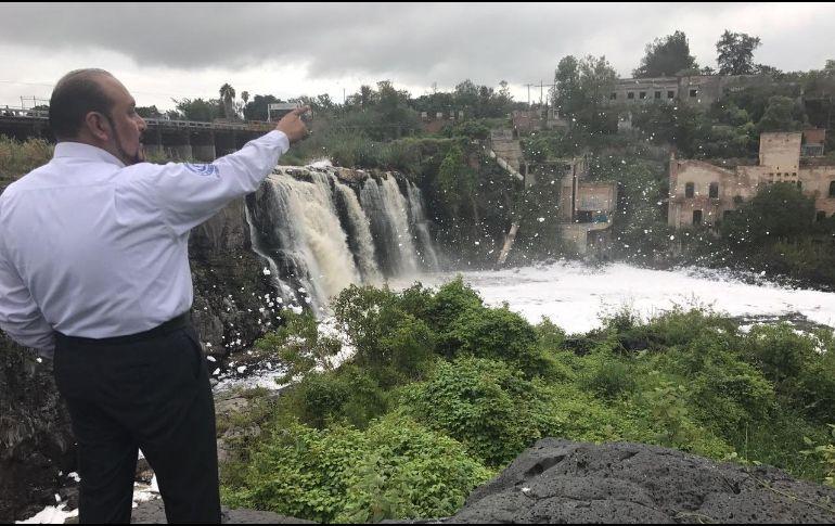 La Comisión valora la voluntad del Estado para hacer las obras que resulten necesarias para el saneamiento de la cuenca y esperan una respuesta formal y por escrito. TWITTER / @CEDHJ
