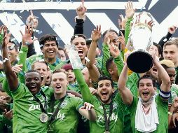 Seattle Sounders. Son los campeones vigentes de la Major League Soccer. AP