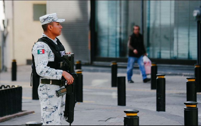 Pese a la implementación de la Guardia Nacional, la percepción de inseguridad en el país sigue siendo elevada. ARCHIVO