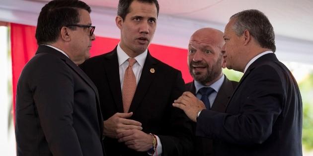 Juan Guaidó advierte de más sanciones contra Venezuela