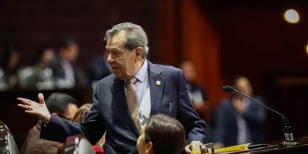 Porfirio Muñoz Ledo arremete contra Ebrard