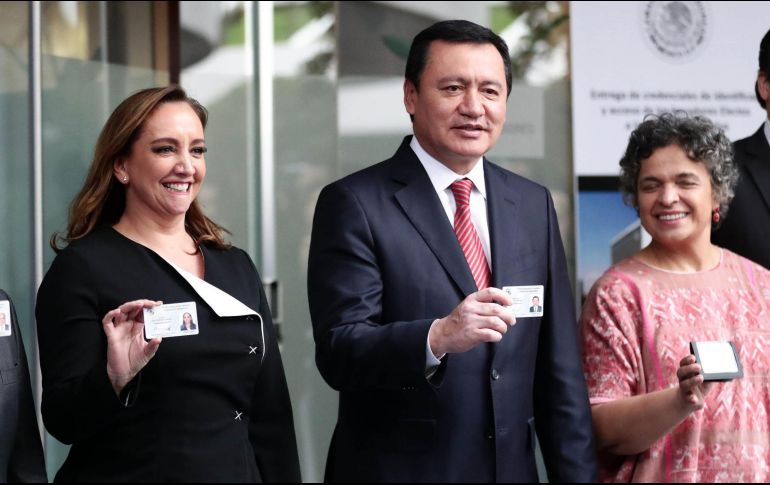 Miguel Ángel Osorio Chong negó tener una relación cercana con Emilio Lozoya. SUN/Archivo