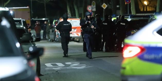 Asciende a 11 cifra de muertos en tiroteos en la ciudad alemana de Hanau