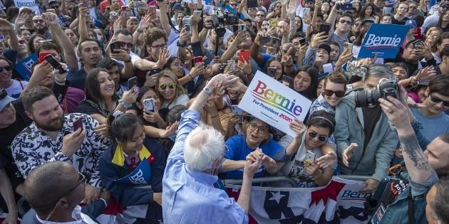Demócratas, listos para caucus en Nevada, aunque ensombrecidos por Rusia