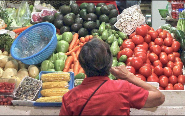 Las frutas y verduras fueron los productos que más aumentaron de precio. EL INFORMADOR/ARCHIVO