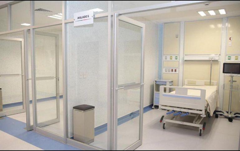 Por el momento, se habilitaron áreas para recibir a 30 pacientes en una primera etapa. TWITTER/@alejandromurat