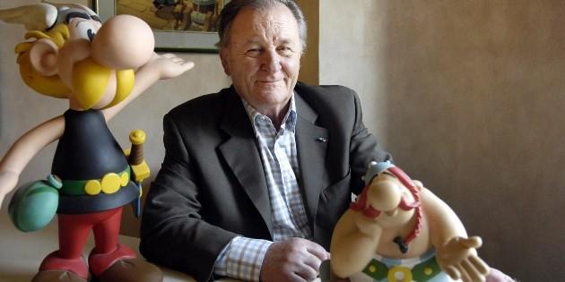 Fallece Albert Uderzo, co creador del héroe francés ''Astérix''