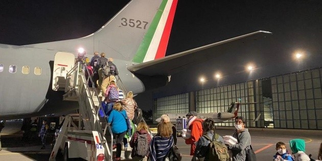 Avión de la Fuerza Aérea repatriará a mexicanos de Argentina