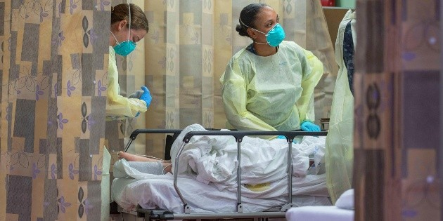Muertes por COVID-19 se duplicaron en una semana alerta la OMS