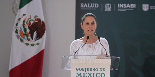 En Ciudad de México, enfermos de coronavirus reciben mil pesos: Sheinbaum