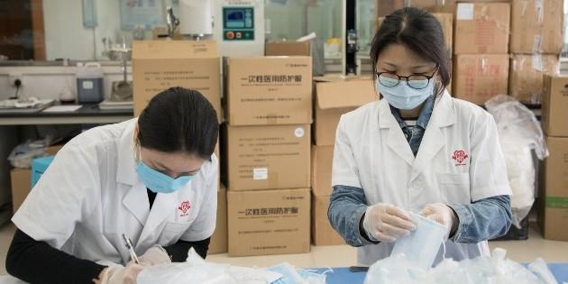 Gobierno de México recibió 50 mil pruebas desde China para COVID-19