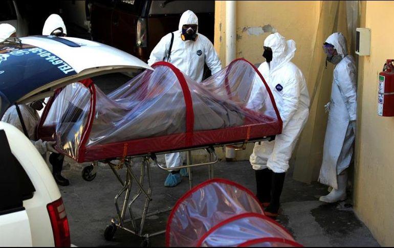El lunes, un agente del Ministerio Público Federal adscrito a la delegación de la FGR en el Estado de México murió a causa del nuevo coronavirus. EFE/L. Torres