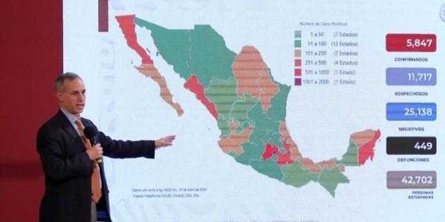 Empresas no esenciales que no cerraron serán sancionadas: López-Gatell