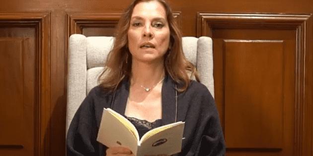 Beatriz Gutiérrez Müller invita a lectura en línea en el Día del Libro