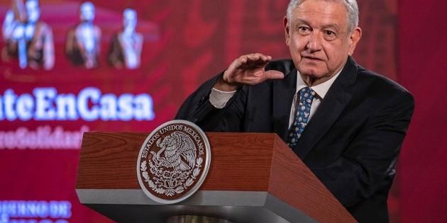 López Obrador propone modificar el Presupuesto ante emergencia económica