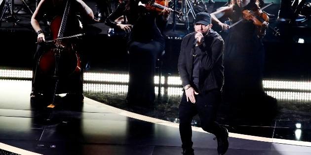 Eminem recuerda cuando retó a Michael Jordan