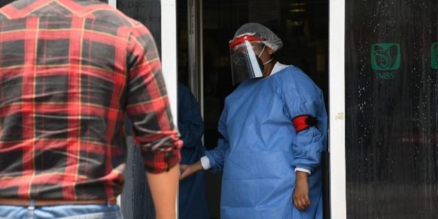 Habilitan Los Pinos como albergue para médicos y enfermeras
