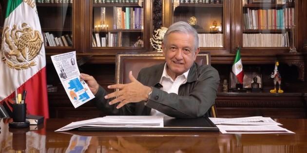 López Obrador pide ahorrar para enfrentar la crisis por coronavirus