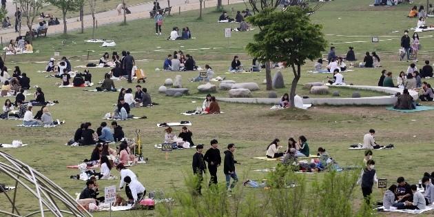 Corea del Sur registra mayor alza de casos de coronaviurs en un mes