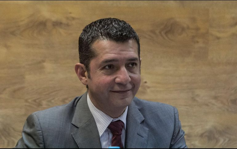 Luis Gustavo Padilla. rector del Centro Universitario de Ciencias Económico Administrativas (CUCEA) de la UdeG señaló que e tienen contempladas 10 fases con intervalos de 15 días para la reactivación. ARCHIVO