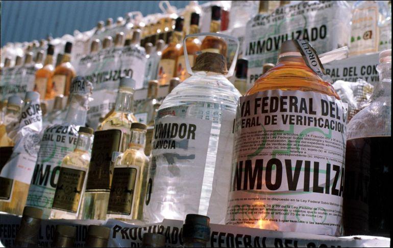 Seis municipios del estado han sido afectados por la distribución del alcohol tóxico. EL INFORMADOR/Archivo