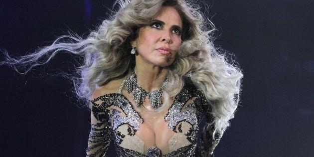 Gloria Trevi impacta en Instagram con vestido de látex