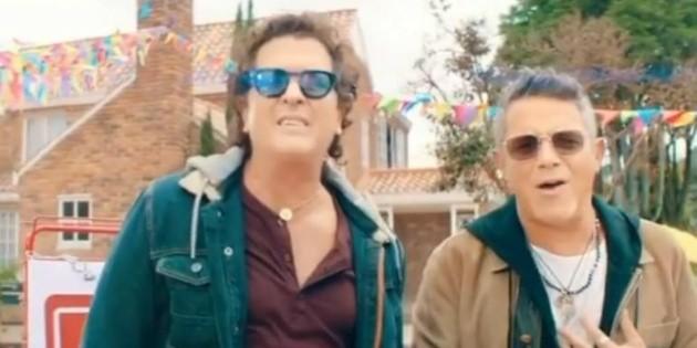 Carlos Vives y Alejandro Sanz estrenan su primer sencillo juntos