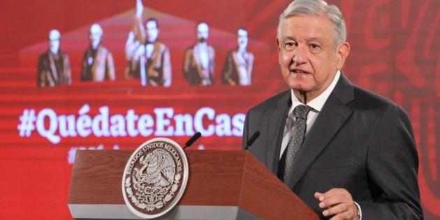 López Obrador no descarta dar