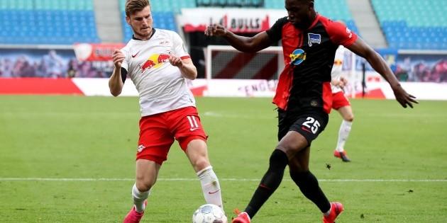 Leipzig empata con Hertha y deja escapar subliderato de Bundesliga