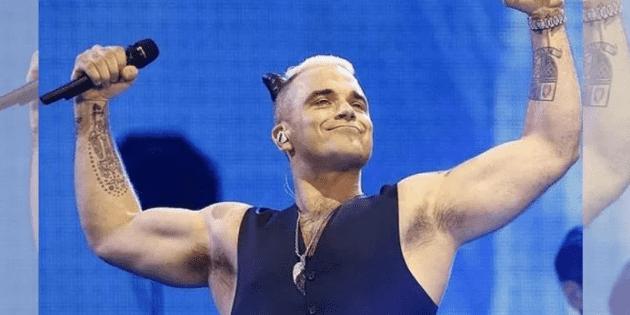 Robbie Williams suma otro round a su pelea con Liam Gallagher