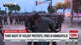Arrestan a reporteros de CNN durante cobertura en Minneapolis