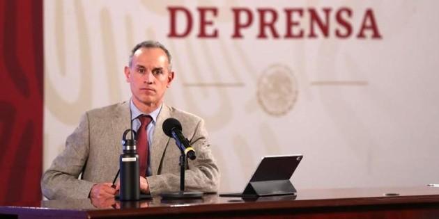 La epidemia está en su máximo nivel de intensidad: López-Gatell