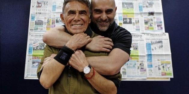 Héctor Suárez Gomís comparte última foto con su papá y su hijo